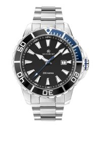 Preview image of Accurist Men's Black Dial Stainless Steel Signature Divers Watch