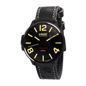 Preview image of U-Boat Capsoil DLC Black 8108 Strap Watch