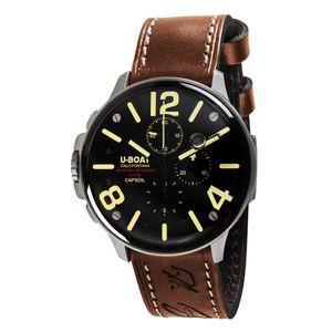 Preview image of U-Boat Capsoil Chrono SS Tan 8111 Strap Watch