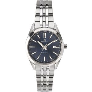 Preview image of Accurist Classic Blue Stainless Steel Baton Ladies Watch