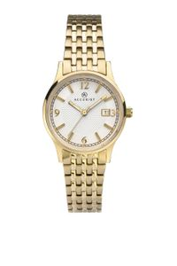 Preview image of Accurist Ladies Gold-Plated Stainless Steel Sunray Dial Bracelet Watch