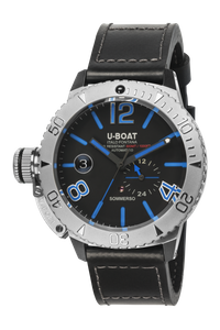 Preview image of U-Boat Sommerso Blue 9014 Strap Watch