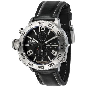 Preview image of U-BOAT Doppiotempo Stainless Steel 9016 Strap Watch