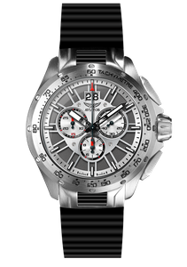 Preview image of Aviator MIG-35 Chronograph Steel Rubber Strap Watch