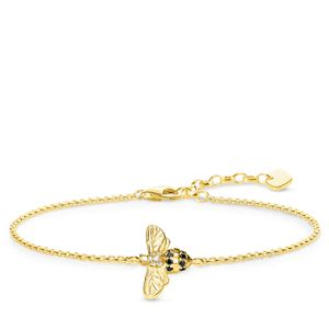 Preview image of Thomas Sabo Yellow Gold Plated Bee Bracelet