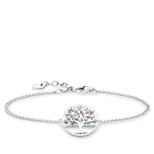 Preview image of Thomas Sabo Tree Of Love Stone Set Bracelet