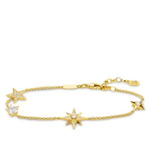 Preview image of Thomas Sabo Gold Plated Magic Stars Bracelet
