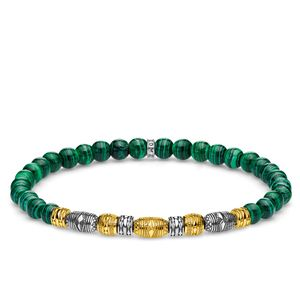 Preview image of Thomas Sabo Lucky Charm Bi-Colour Beaded Bracelet