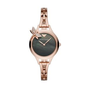 Preview image of Emporio Armani AURORA Rose Gold Dragonfly Ladies Bracelet Watch