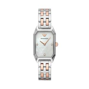 Preview image of Emporio Armani Gioia Steel & Rose Gold Ladies Bracelet Watch