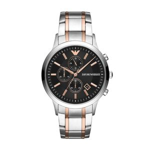 Preview image of Emporio Armani Renato Gents Stainless Steel Bi-Colour Watch