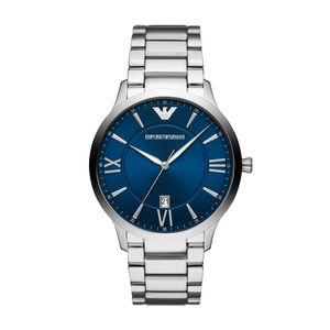 Preview image of Emporio Armani Men's Giovanni Blue Face Bracelet Watch