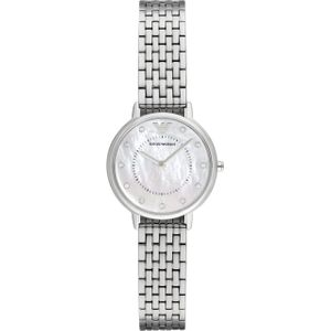 Preview image of Emporio Armani Kappa Steel Mother of Pearl Dial Watch
