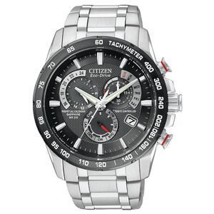 Preview image of Citizen Eco Drive Atomic Chronograph Men's Bracelet Watch