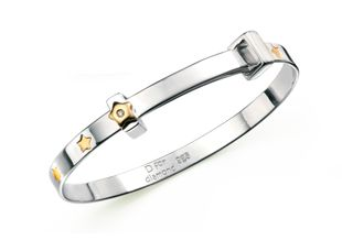 Preview image of D for Diamond Wish Upon A Star Bangle