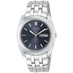 Preview image of Citizen Eco Drive Stainless Steel Men's Bracelet Watch