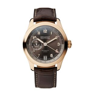 Preview image of BREMONT H-4 HERCULES ROSE GOLD LIMITED EDITION WATCH