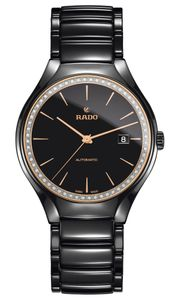 Preview image of Rado True 40mm Gents Diamond Bracelet Watch