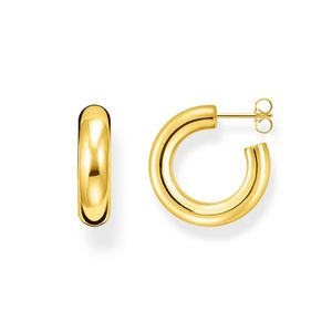 Preview image of Thomas Sabo Yellow Gold Plated Small Hoops