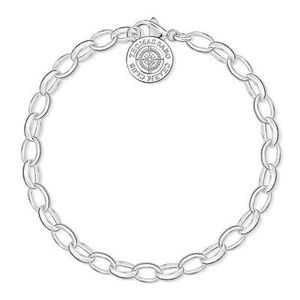 Preview image of Thomas Sabo Diamond Set Charm Bracelet