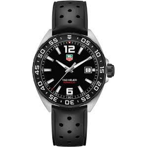 Preview image of TAG Heuer Men's Formula 1 Black Strap Watch