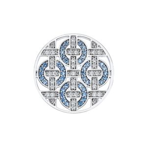 Preview image of Hot Diamonds Emozioni Large Telaio Azure Coin