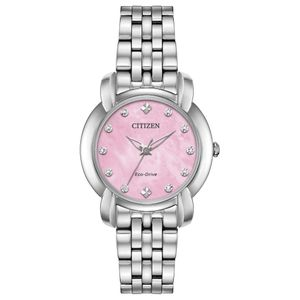 Preview image of Citizen Jolie Pink Mother of Pearl Bracelet Watch
