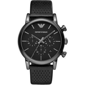 Preview image of Emporio Armani Black Chronograph Watch