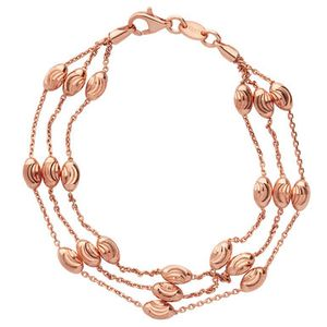 Preview image of Links of London Essential Bead Rose Gold Bracelet