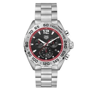Preview image of TAG HEUER FORMULA 1 CHRONOGRAPH BLACK AND RED BRACELET WATCH