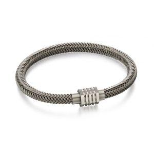 Preview image of Fred Bennett Stainless Steel Woven Bracelet