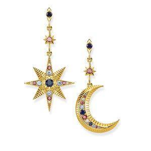 Preview image of Thomas Sabo Kingdom of Dreams Star & Moon Earrings