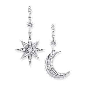 Preview image of Thomas Sabo Royalty Star and Moon Earrings