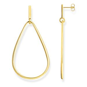 Preview image of Thomas Sabo Yellow Gold Plated Heritage Figure of 8 Earrings