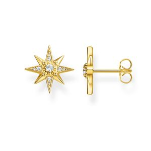 Preview image of Thomas Sabo Large Gold Plated Magic Stones Ear Studs