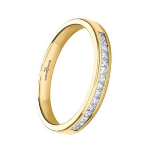 Preview image of 9ct Yellow Gold 2.8mm Devine 0.20ct Diamond Eternity Ring