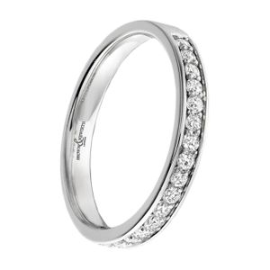 Preview image of 18ct White Gold 2.8mm Channel Set Ladies 0.17ct Diamond Eternity Ring