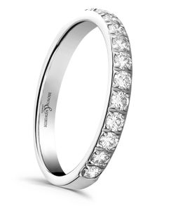 Preview image of Platinum 2.3mm Dazzle Ladies 0.25ct Diamond Eternity Ring