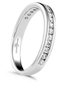 Preview image of 18ct White Gold 2.8mm Synergy Ladies Diamond Eternity Ring