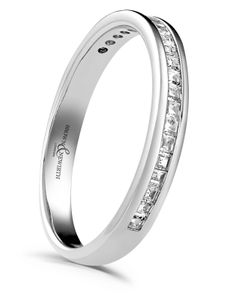 Preview image of 9 ct White Gold 2.8mm Devine Diamond Eternity Ring