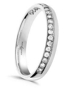 Preview image of 18ct White Gold 3mm Venus Ladies Diamond Eternity Ring