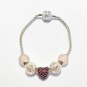 Preview image of Thomas Sabo Karma Bracelet Love and Luck Forever Set