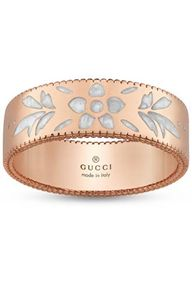 Preview image of Gucci Icon Blossom 18ct Rose Gold Ring