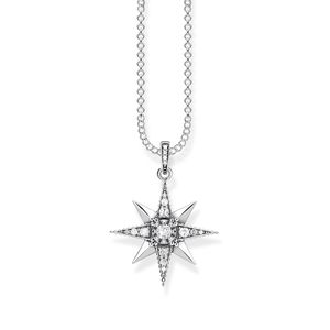 Preview image of Thomas Sabo White Kingdom of Dreams Star Necklace