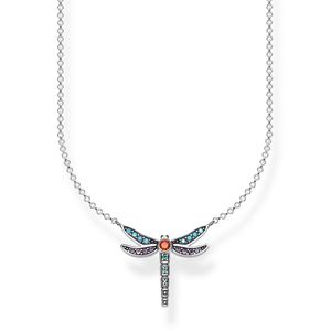 Preview image of Thomas Sabo Multi Colour Small Dragonfly Necklace