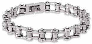 Preview image of Unique Steel Multi Bar Link Bracelet