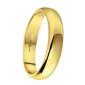 Preview image of 9ct Gold 4mm Lighter Softened Flat Court Ladies Wedding Ring
