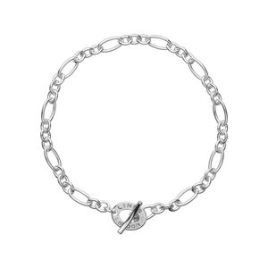 Preview image of Links of London XS Sterling Silver Chain Charm Bracelet