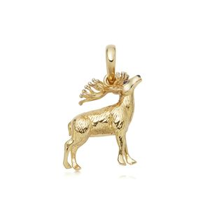 Preview image of Links of London 18kt Gold Vermeil Red Deer Stag Charm
