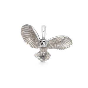 Preview image of Links of London Sterling Silver & Enamel Barn Owl Charm